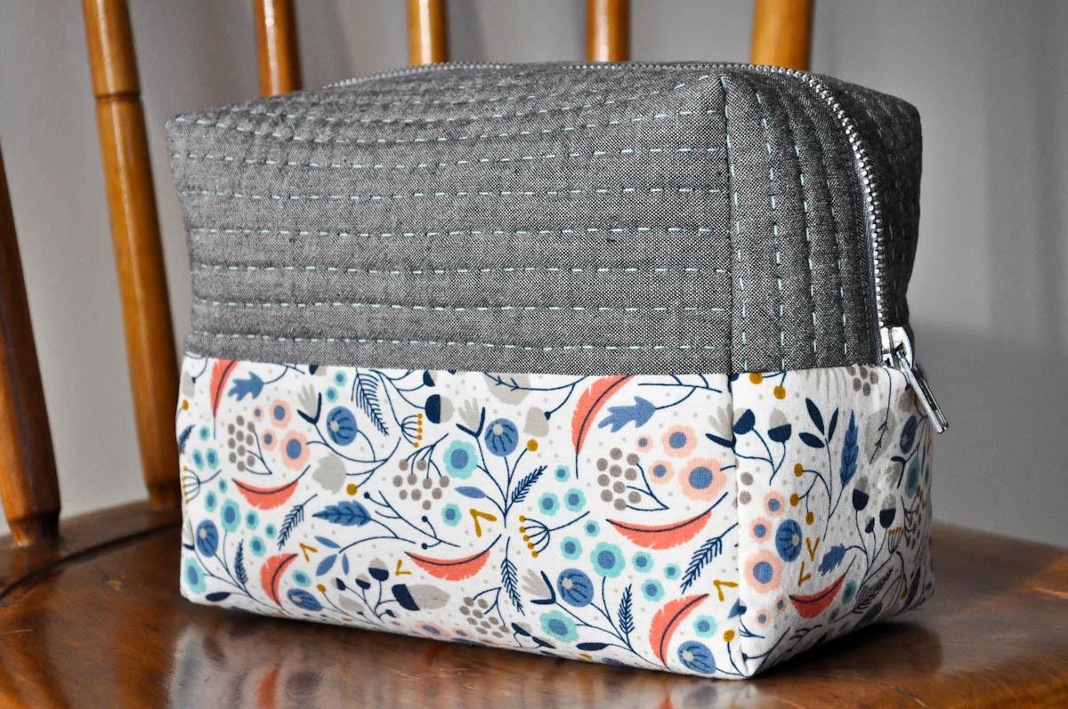 Boxy Cosmetic Bag 1 Of