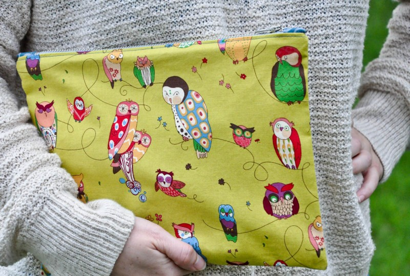 Zipper pouch with tabs tutorial (32 of 1)