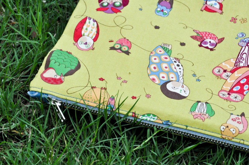Zipper pouch with tabs tutorial (33 of 1)