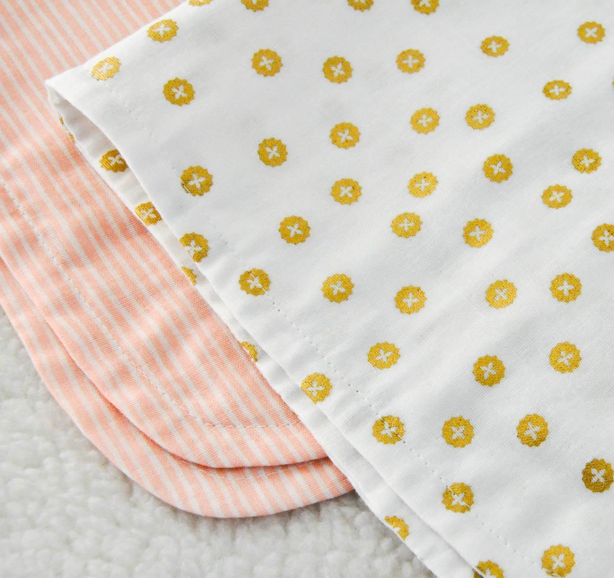 Burp cloths for baby girl telafante double gauze burp cloth tutorial 10 of 1 baditri Image collections